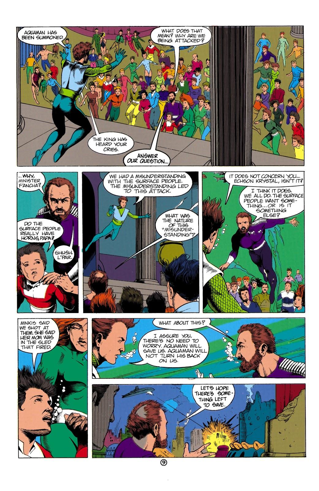 Aquaman (1991) Issue #1 #1 - English 9