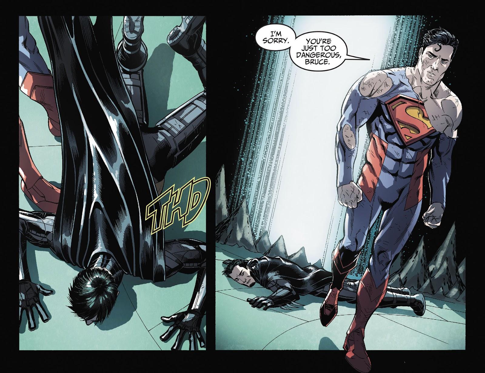Injustice: Gods Among Us [I] Issue #36 #37 - English 4