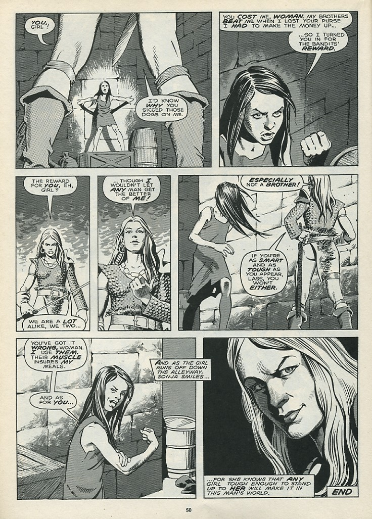 The Savage Sword Of Conan Issue #172 #173 - English 52