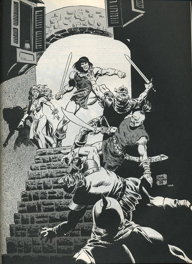 The Savage Sword Of Conan Issue #175 #176 - English 59