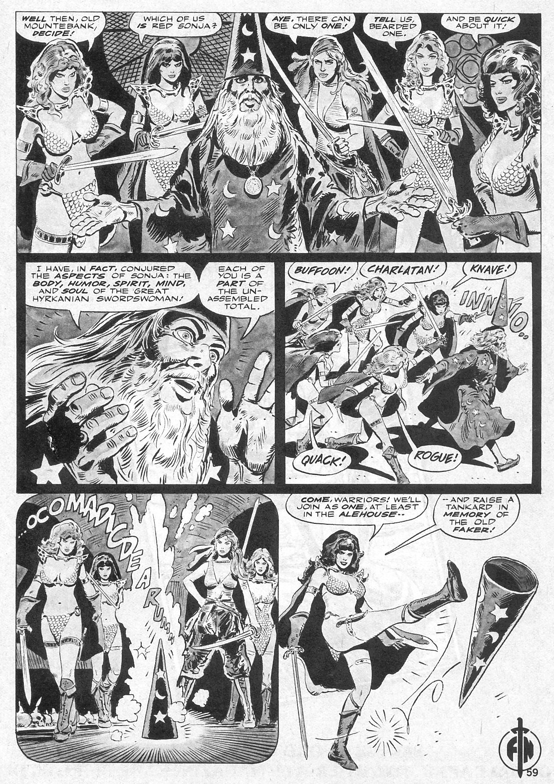 The Savage Sword Of Conan Issue #29 #30 - English 59
