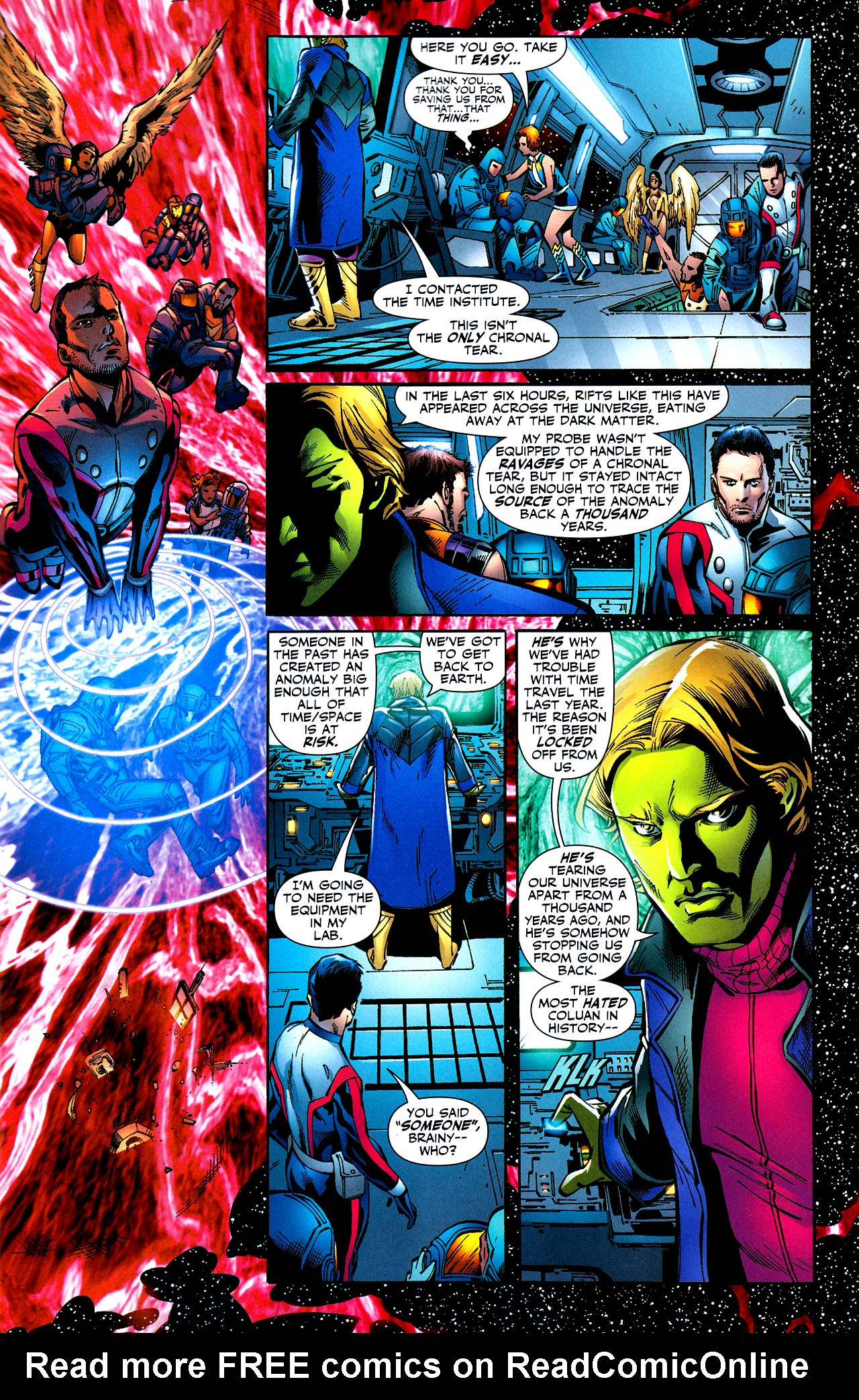 Read online Adventure Comics (2009) comic -  Issue #8 - 10