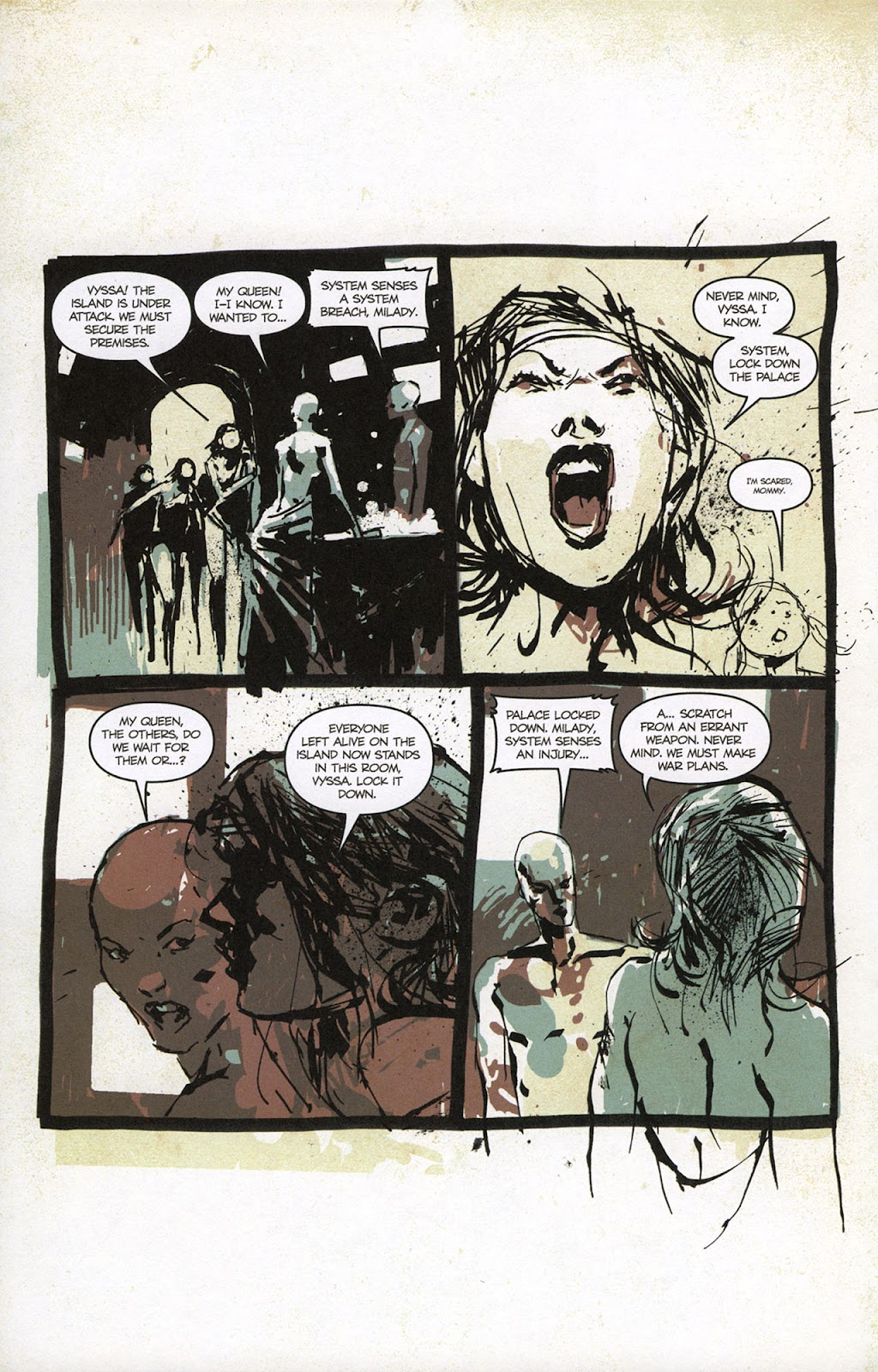 Zombies vs. Robots vs. Amazons Issue #1 Page 13
