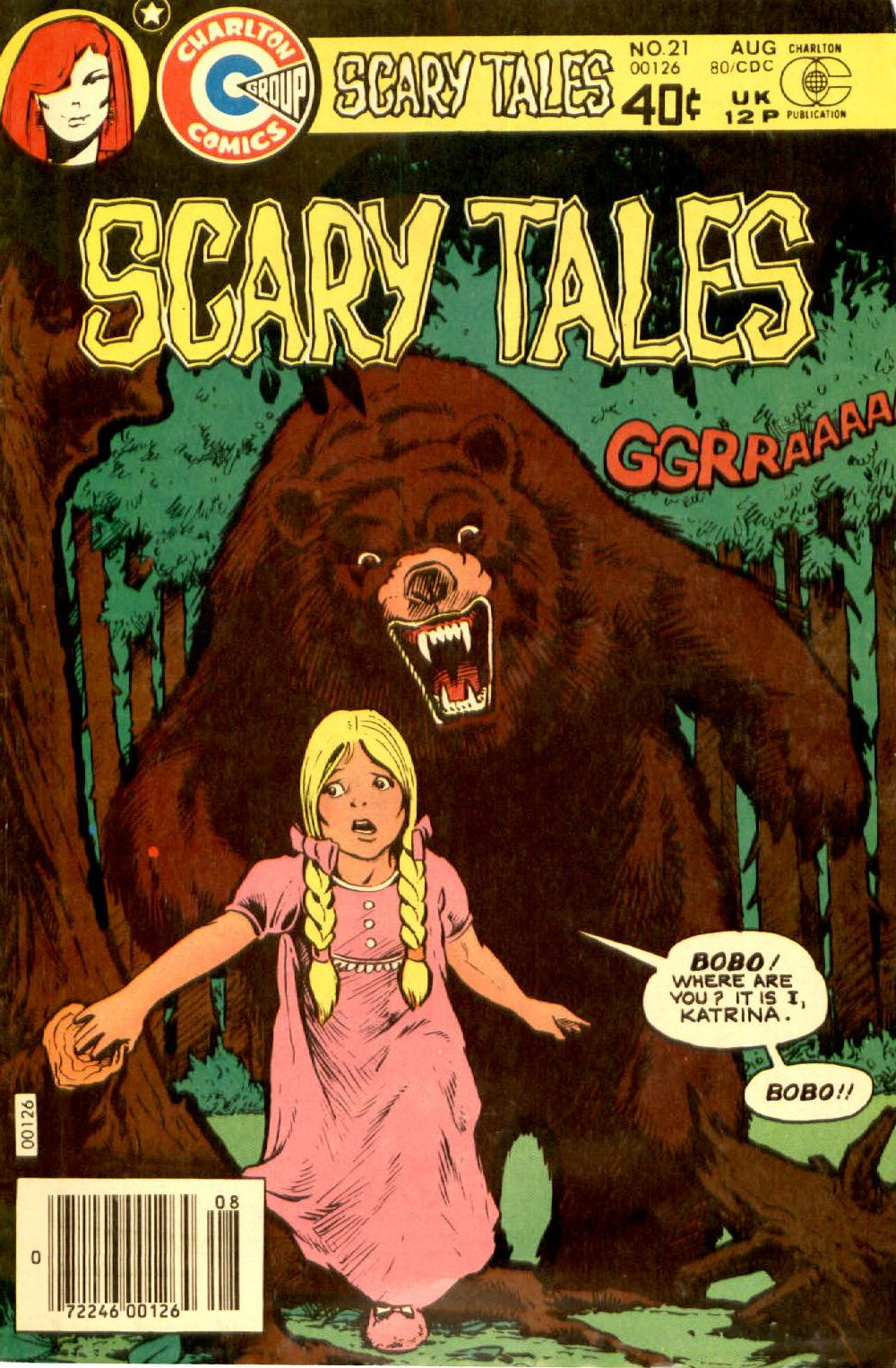 Read online Scary Tales comic -  Issue #21 - 1