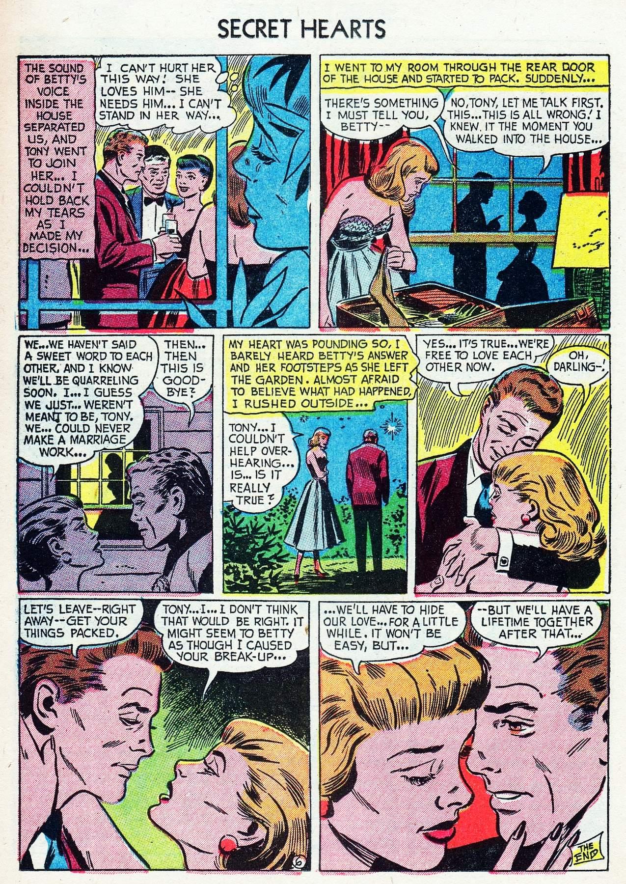 Read online Secret Hearts comic -  Issue #16 - 22
