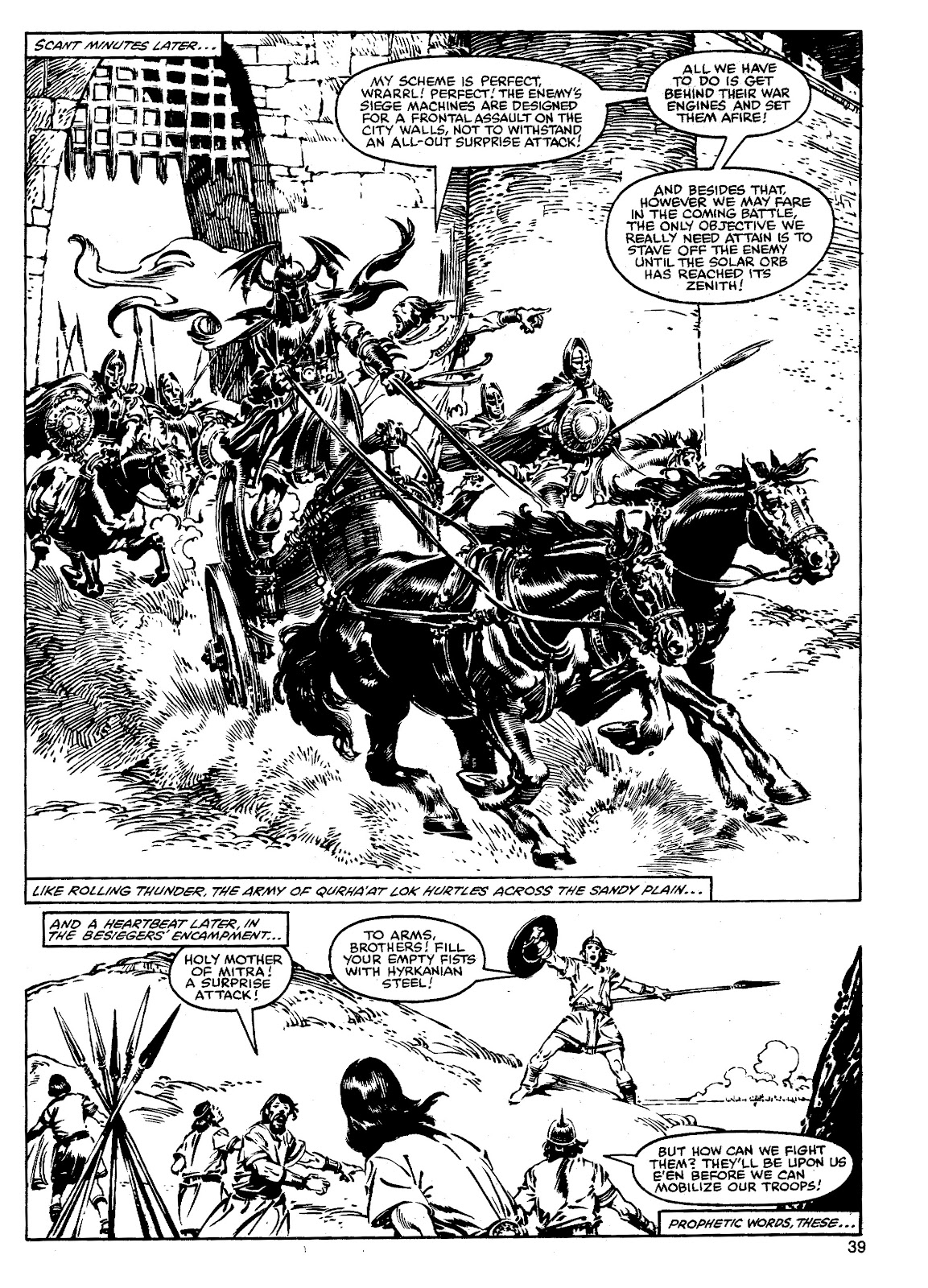 The Savage Sword Of Conan Issue #90 #91 - English 38