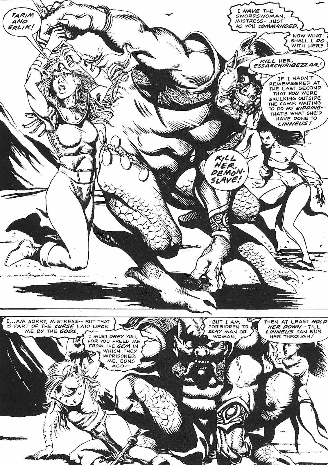 The Savage Sword Of Conan Issue #209 #210 - English 56