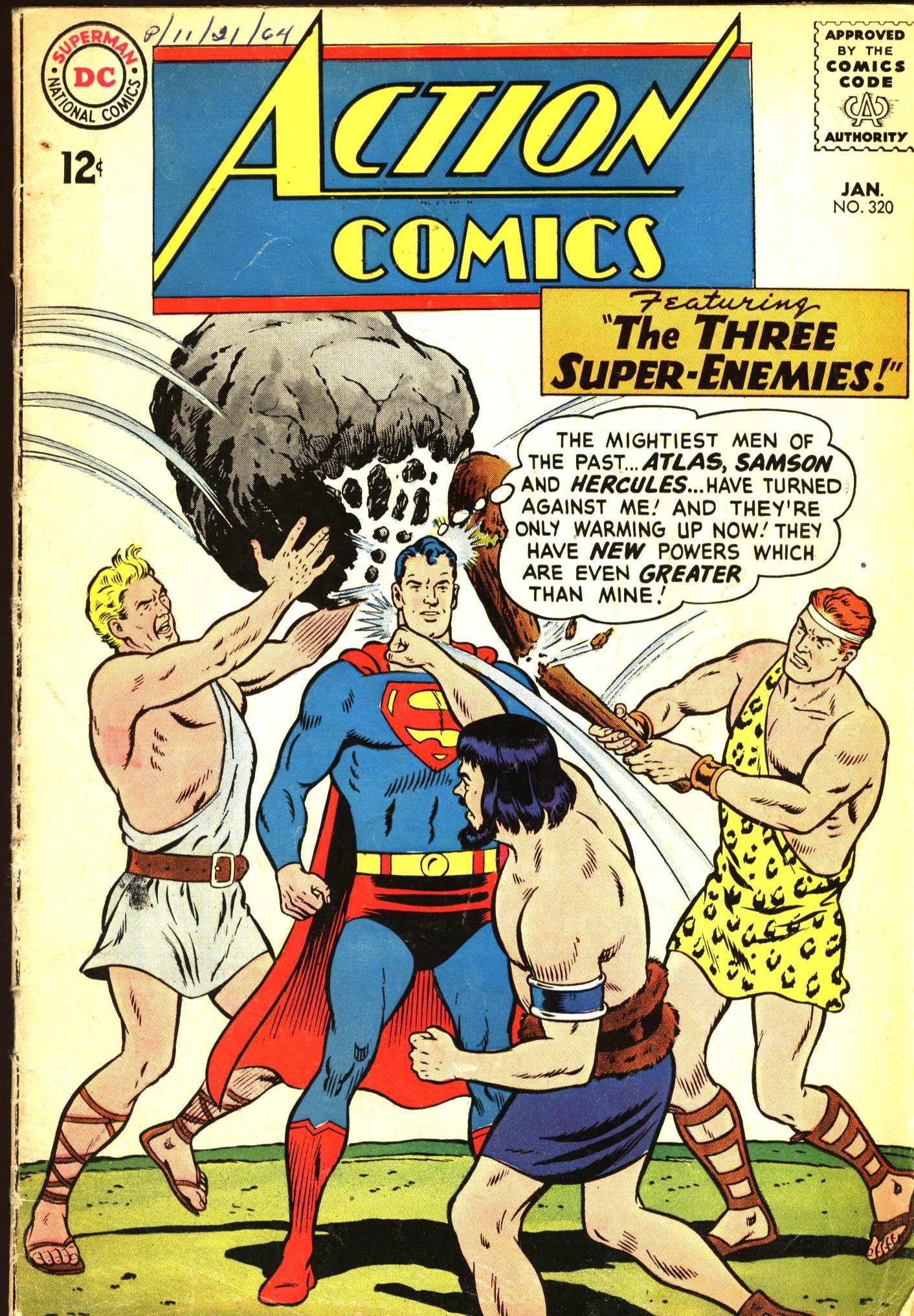Action Comics (1938) 320 Page 1