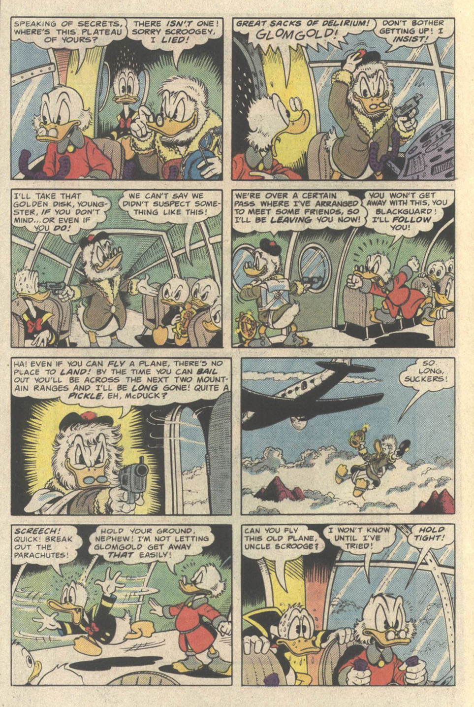 Uncle Scrooge (1953) Issue #219 #219 - English 12