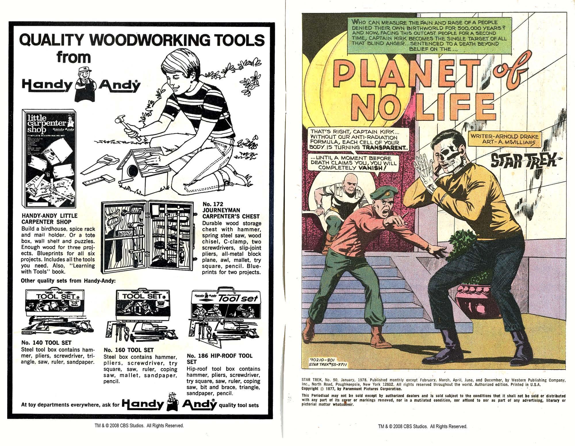 Star Trek (1967) #50 #50 - English 2