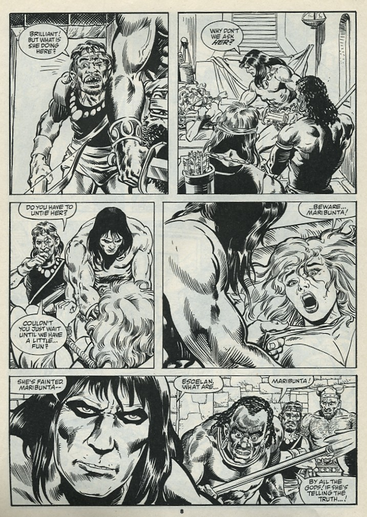 The Savage Sword Of Conan Issue #182 #183 - English 10