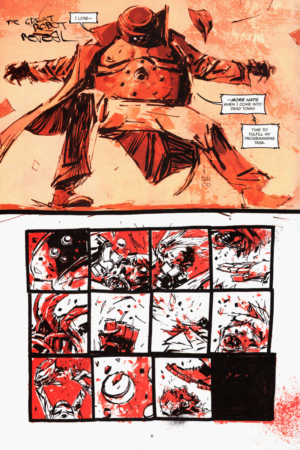 Zombies vs. Robots (2006) Issue #1 Page 8