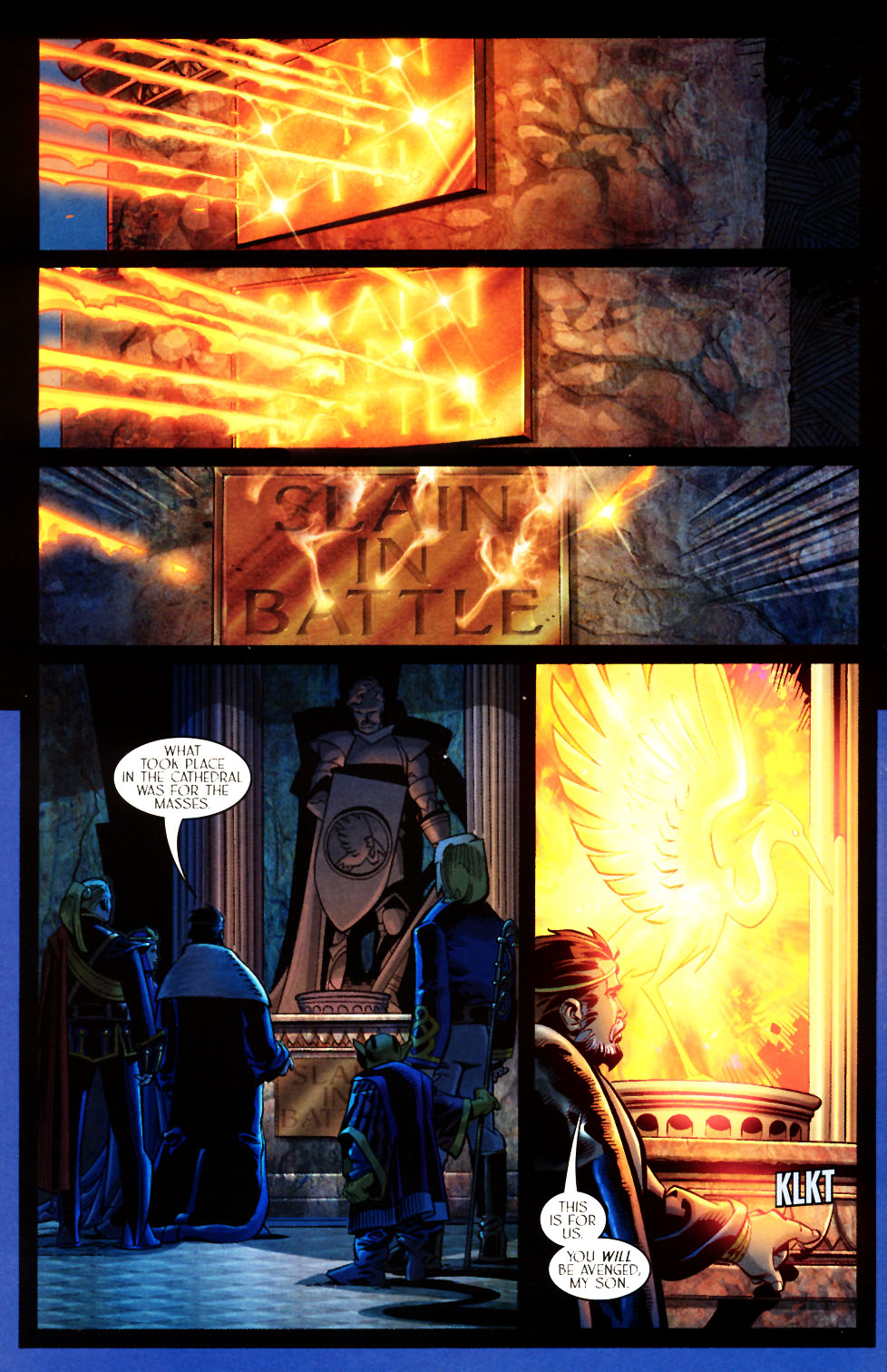 Read online Scion comic -  Issue #7 - 12