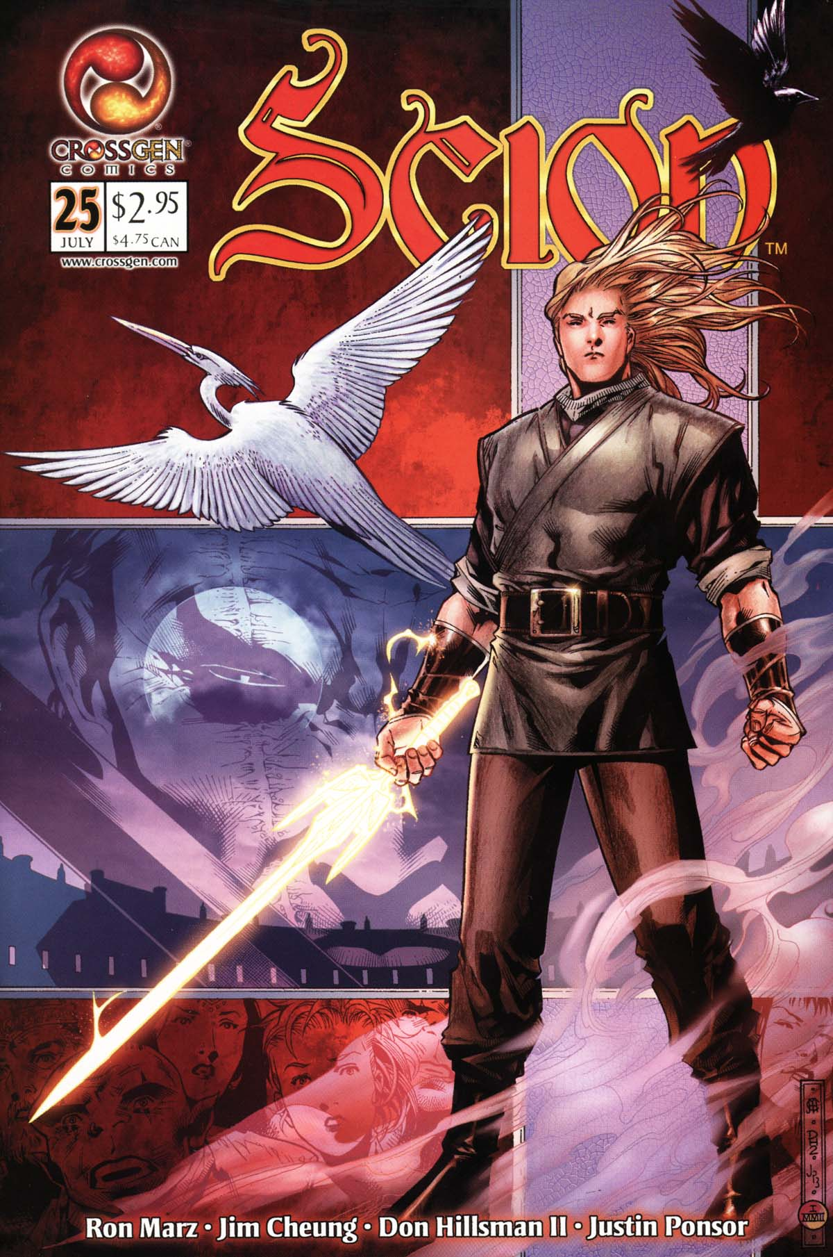 Read online Scion comic -  Issue #25 - 1