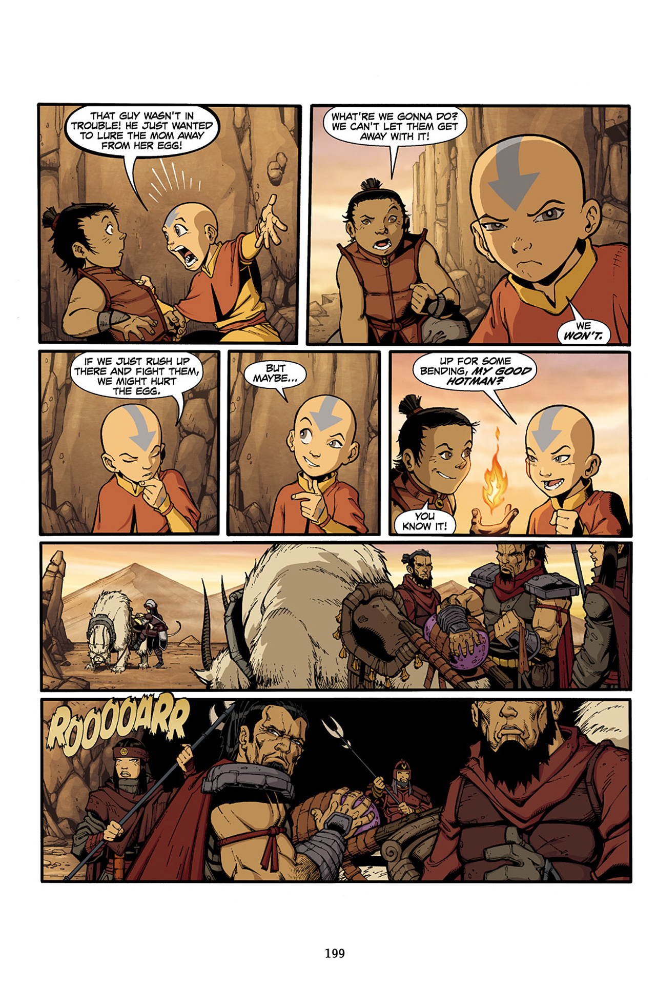 Nickelodeon Avatar: The Last Airbender - The Lost Adventures chap full pic 200