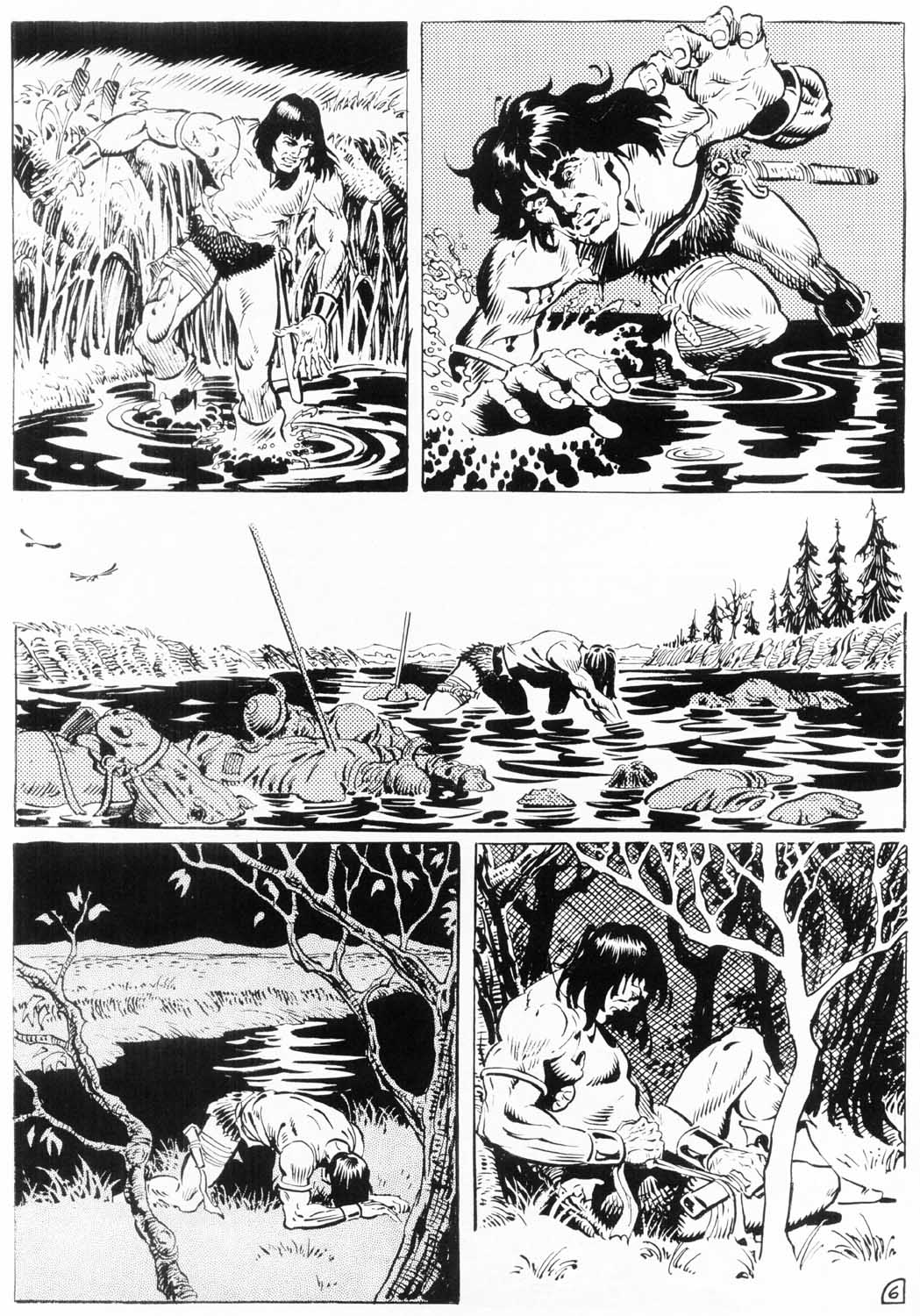 The Savage Sword Of Conan Issue #154 #155 - English 56