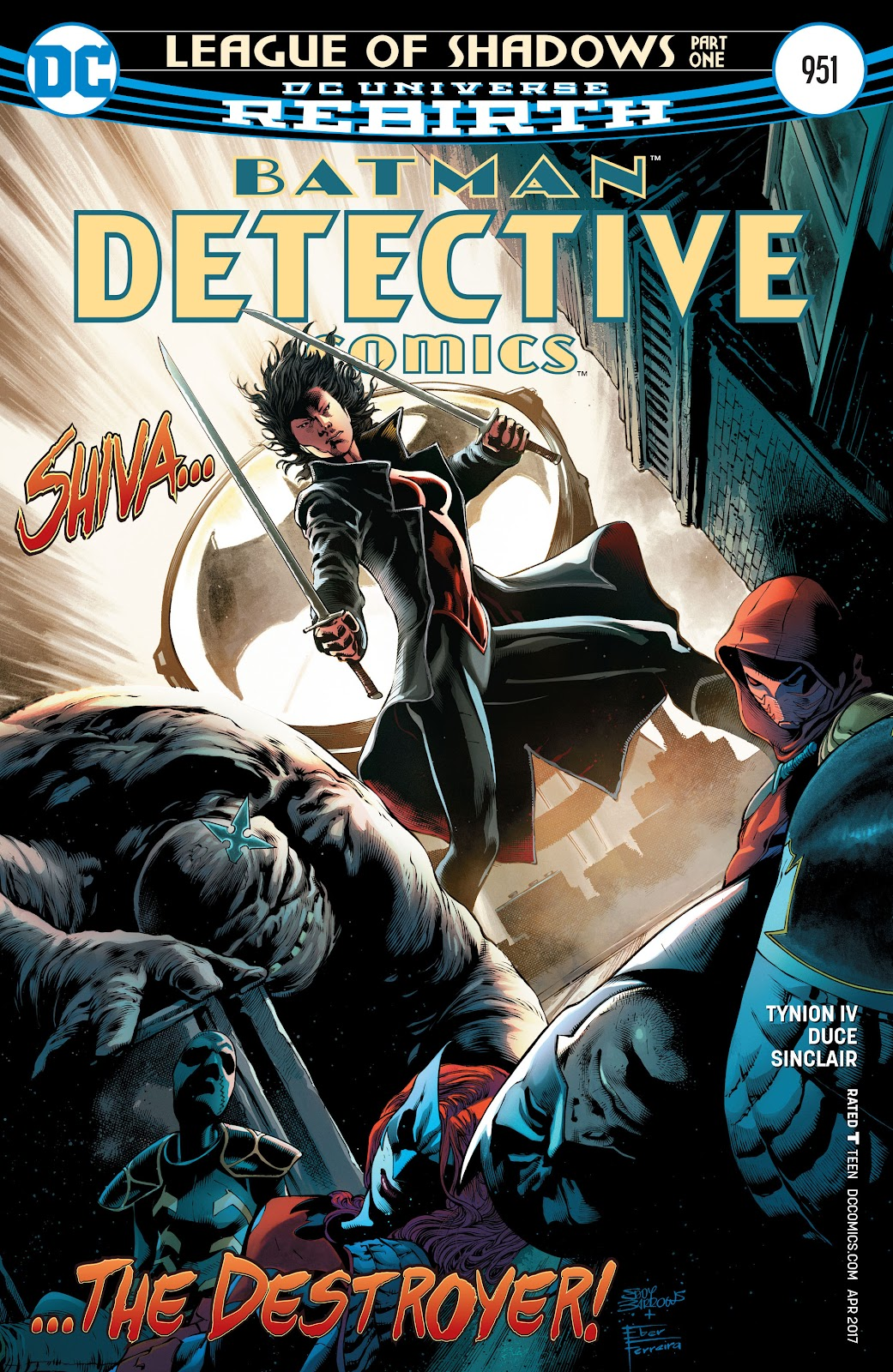 Detective Comics (2016) issue 951 - Page 1