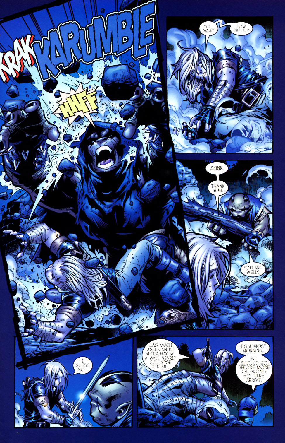 Read online Scion comic -  Issue #4 - 10