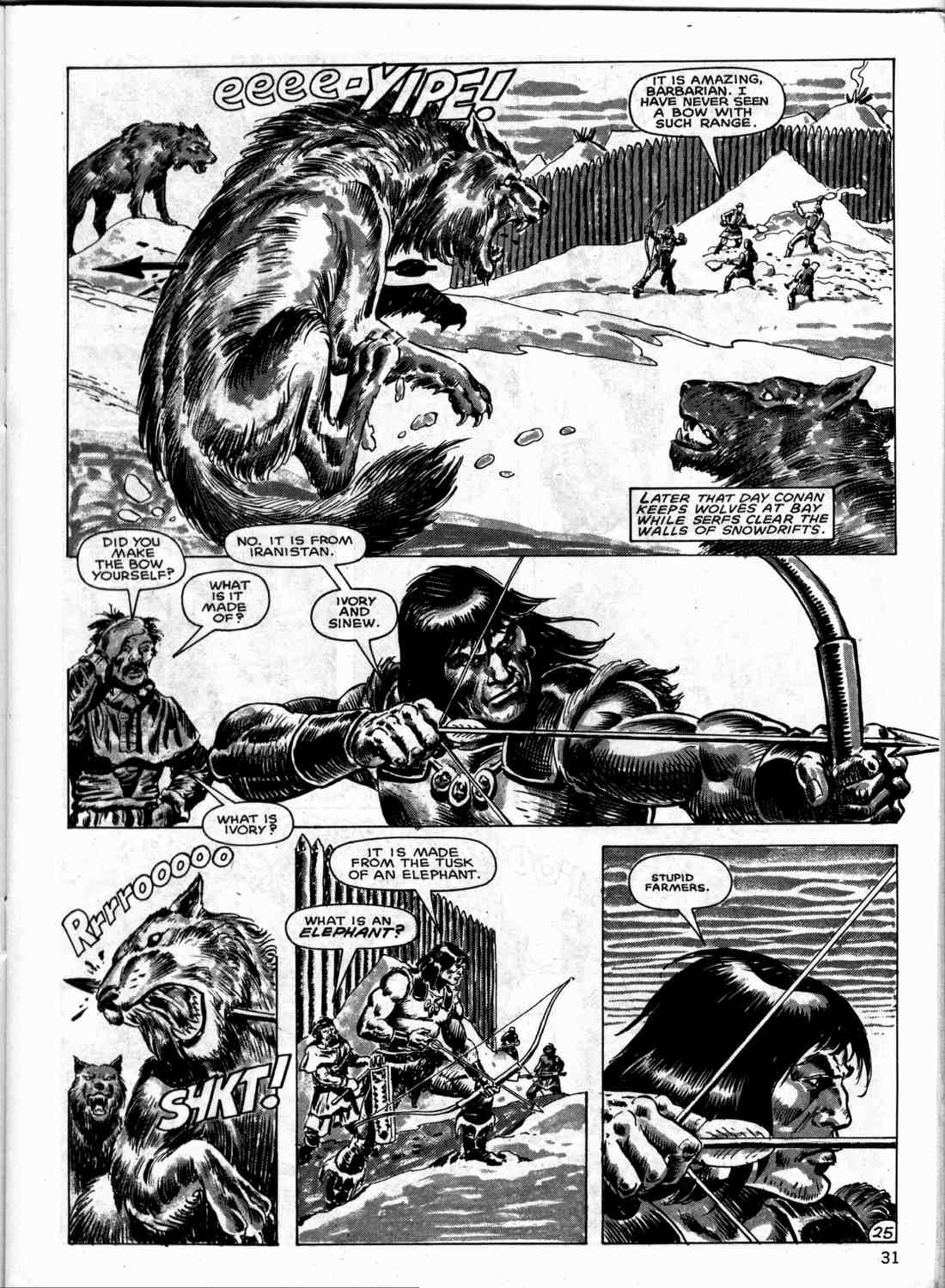 The Savage Sword Of Conan Issue #133 #134 - English 30