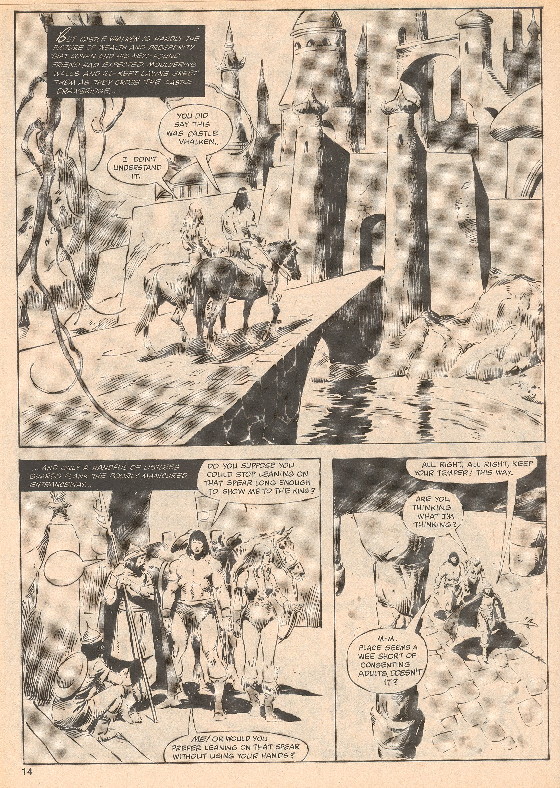 The Savage Sword Of Conan Issue #70 #71 - English 14