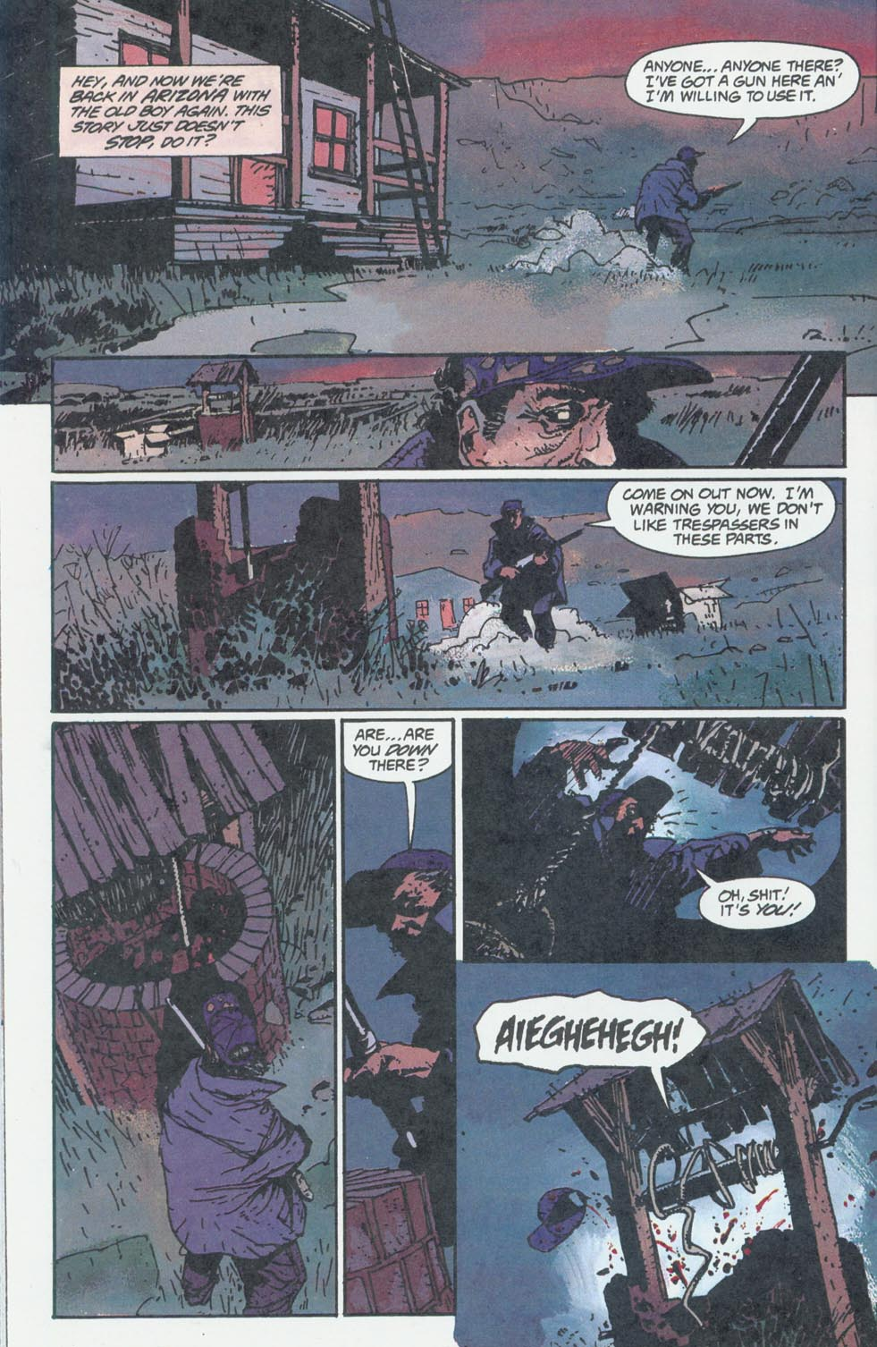 Read online Enigma comic -  Issue #6 - 11