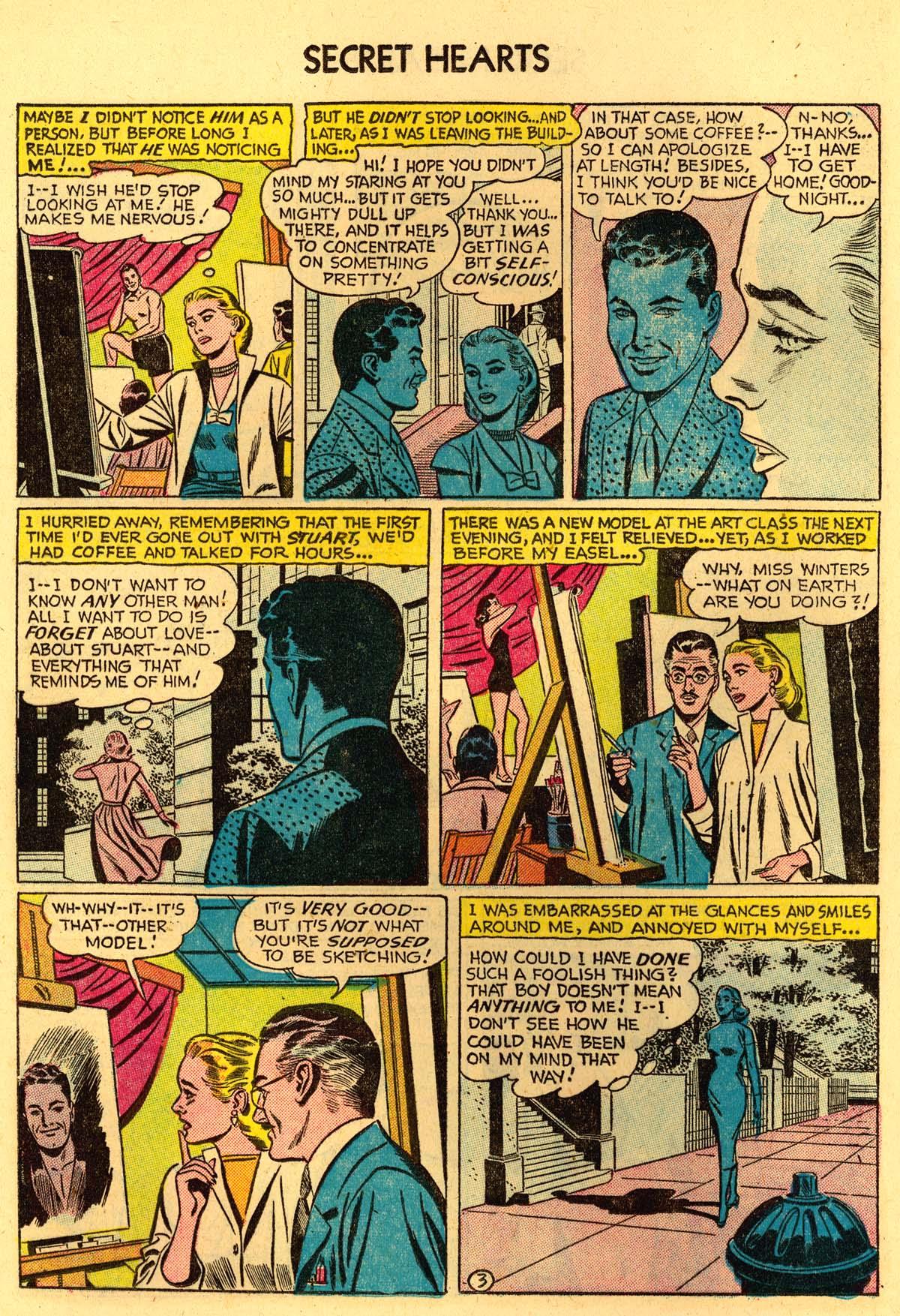 Read online Secret Hearts comic -  Issue #35 - 20