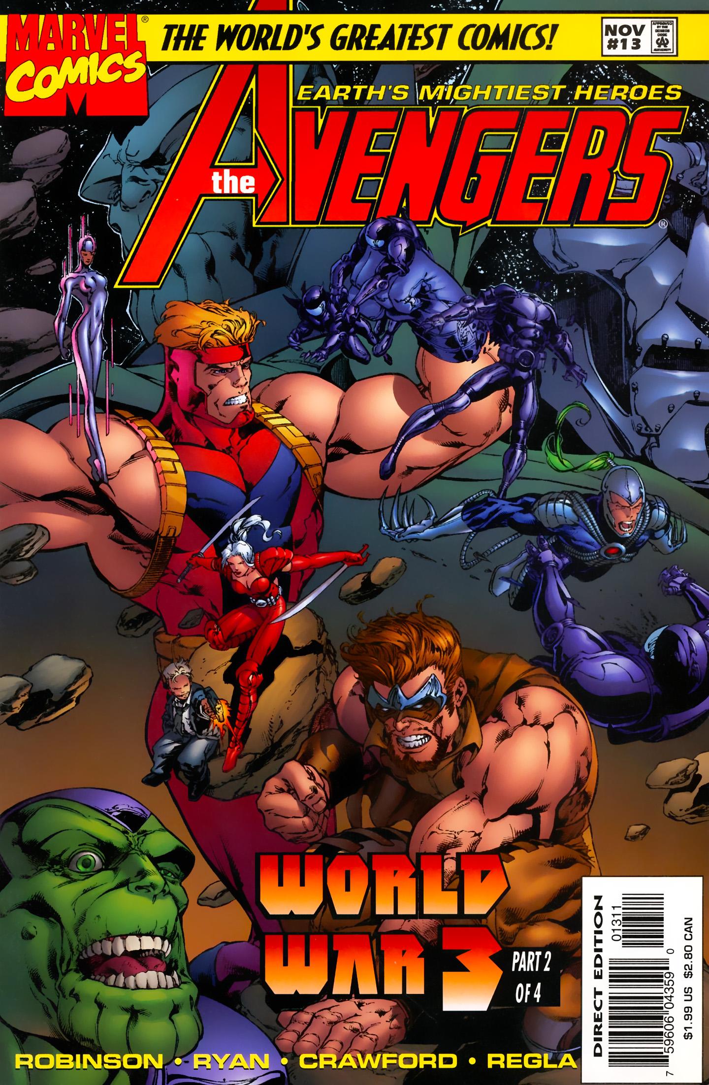Avengers (1996) Avengers_013_(1997)_(noads)_(Minutemen-MorningStar-Mediozo-DCP) Page 1
