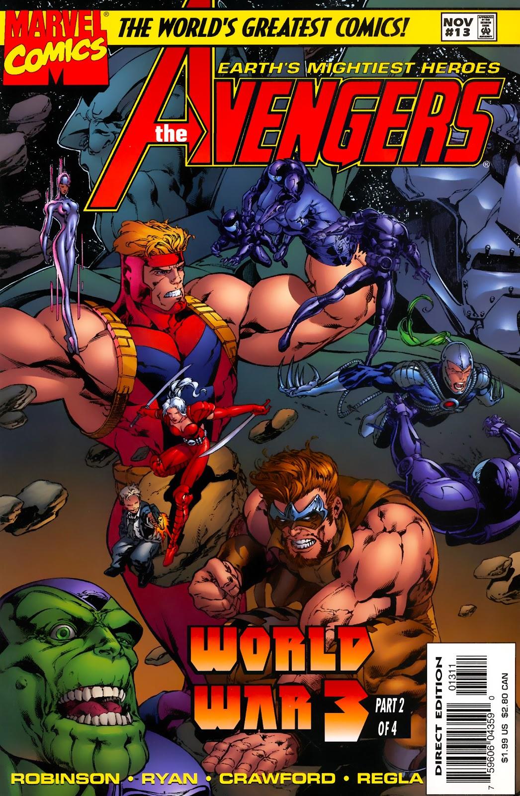 Avengers  1997 Noads Minutemen Morningstar