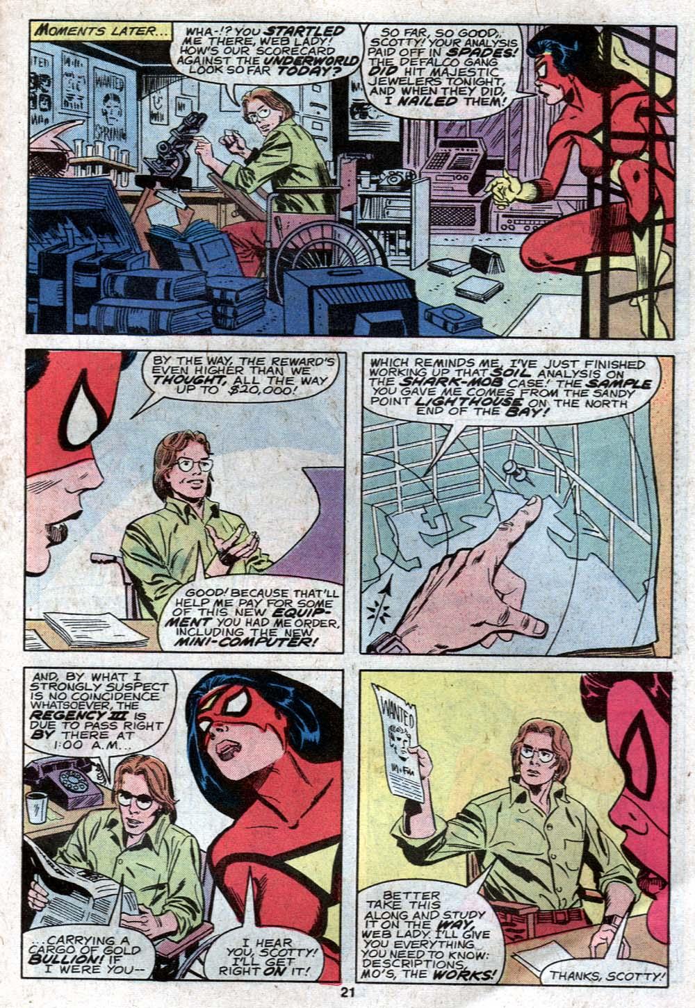 Spider-Woman (1978) #21 #30 - English 13