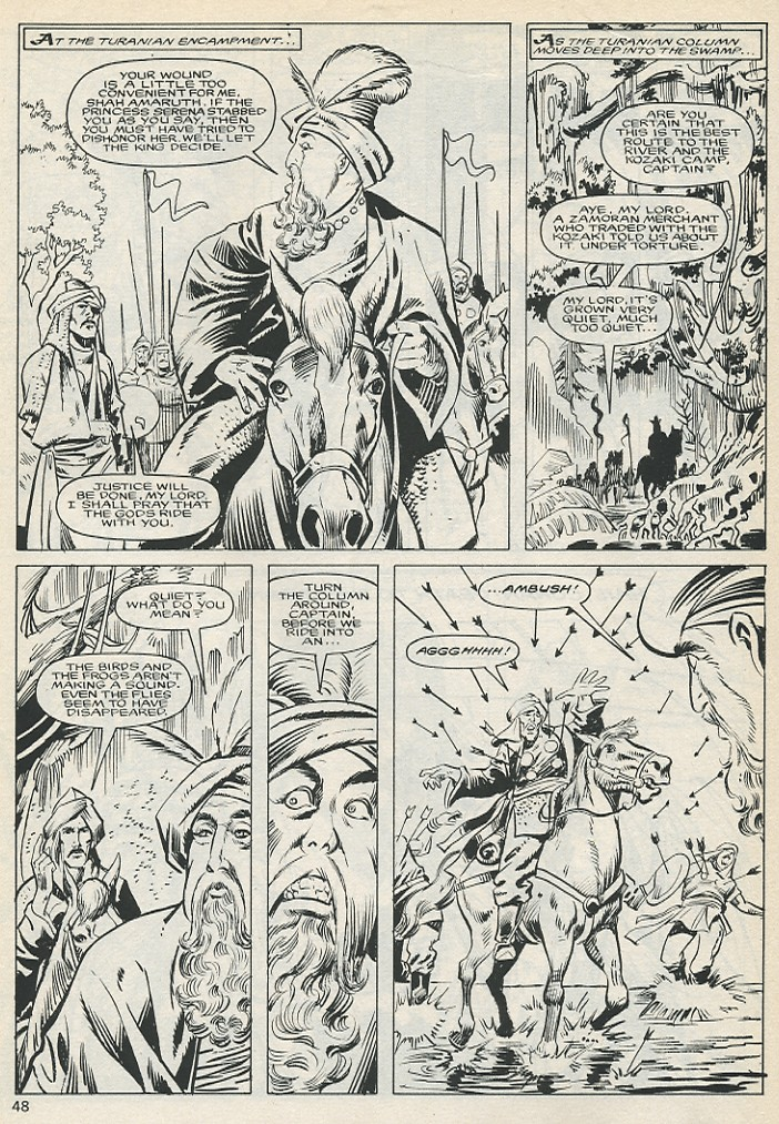 The Savage Sword Of Conan Issue #131 #132 - English 48