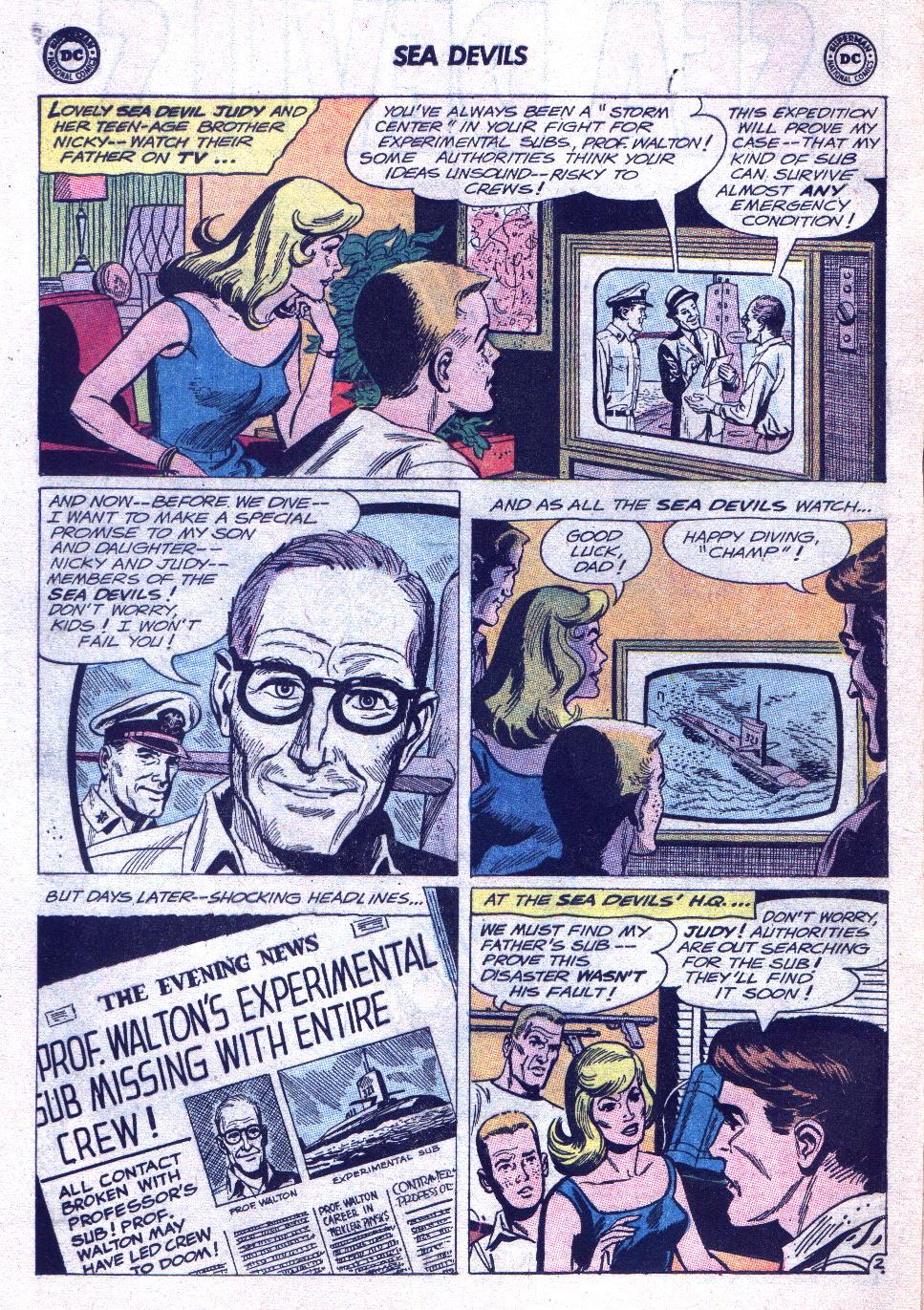 Read online Sea Devils comic -  Issue #15 - 4
