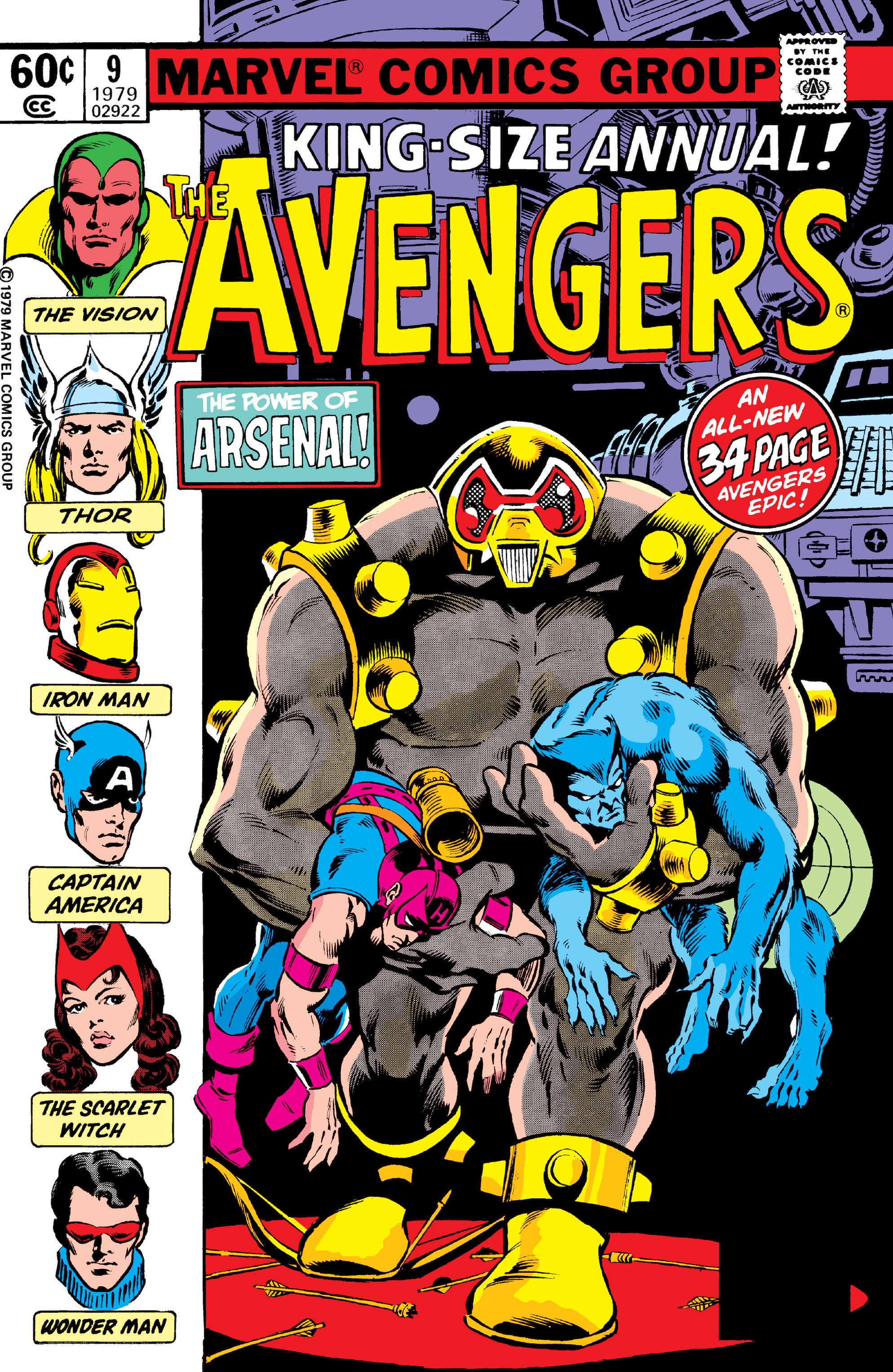 The Avengers (1963) _Annual_9 Page 1