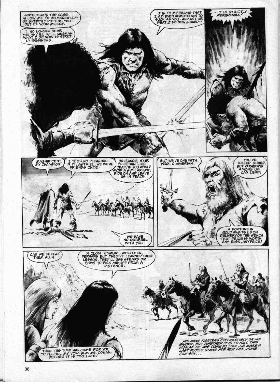 The Savage Sword Of Conan Issue #74 #75 - English 37