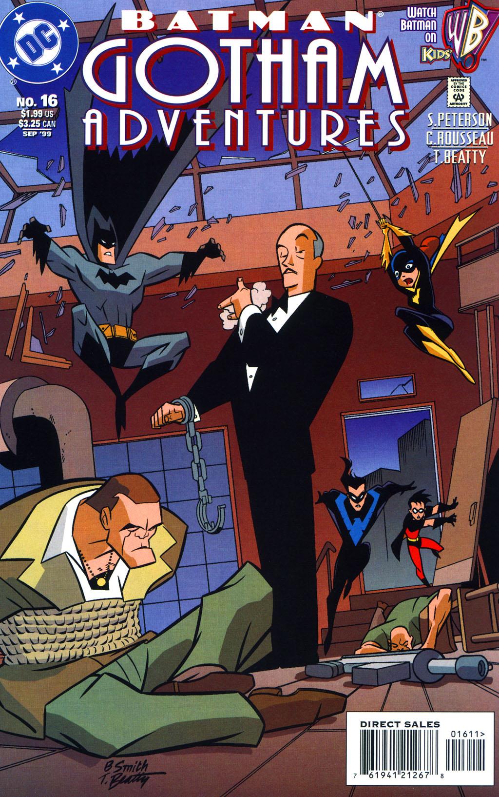 Batman: Gotham Adventures 16 Page 1