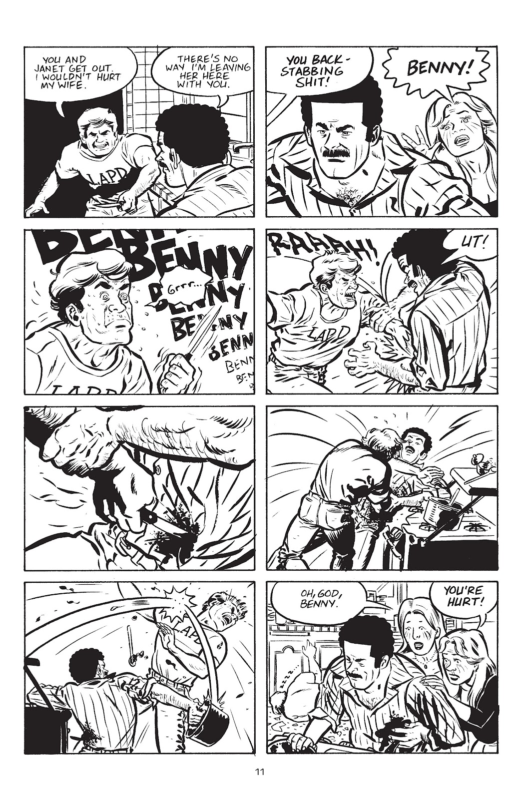 Stray Bullets Issue #21 #21 - English 13