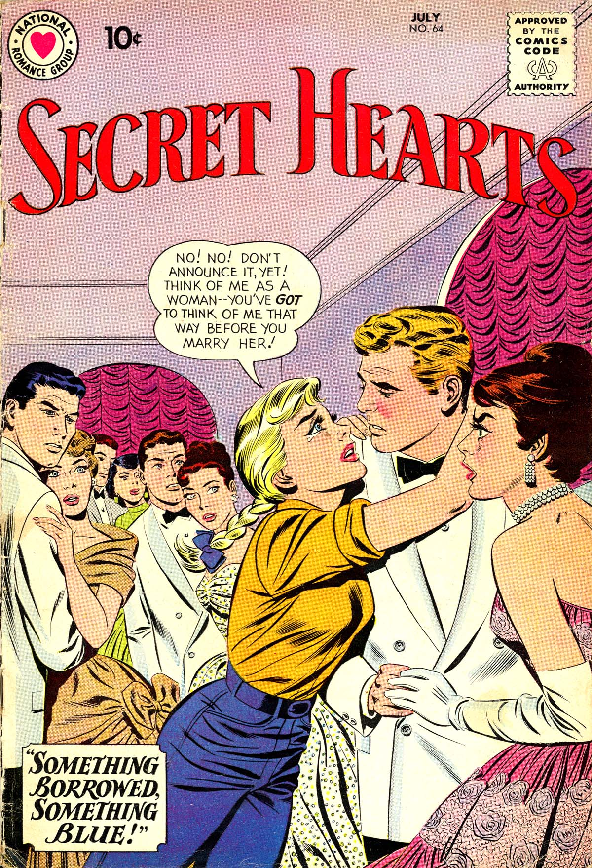 Read online Secret Hearts comic -  Issue #64 - 1