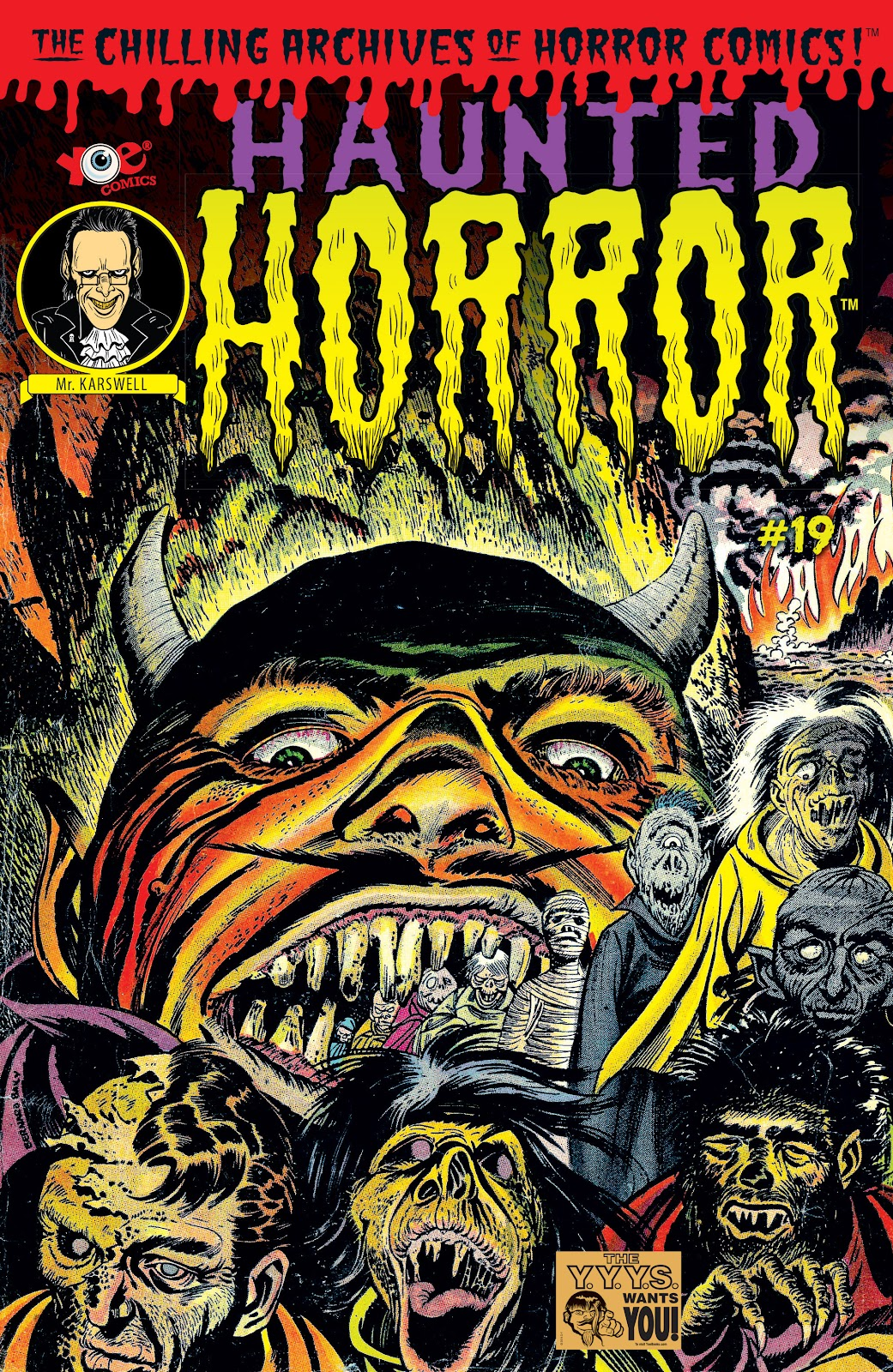 Haunted Horror Issue #19 #19 - English 1