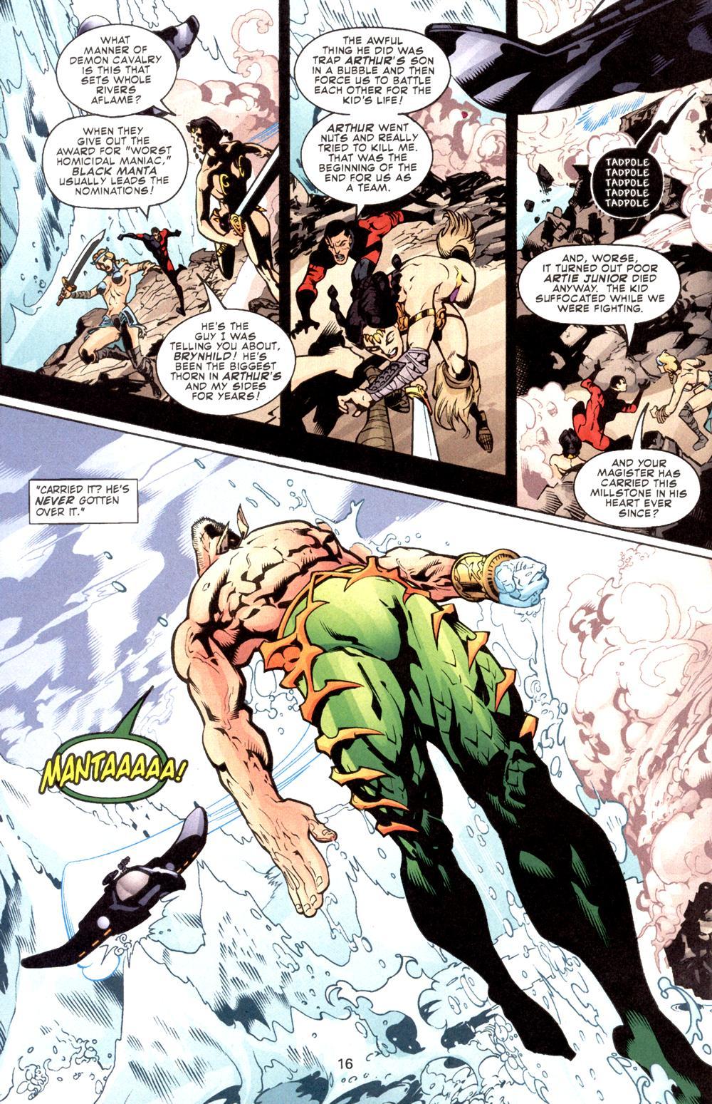 Aquaman (2003) Issue #8 #8 - English 17