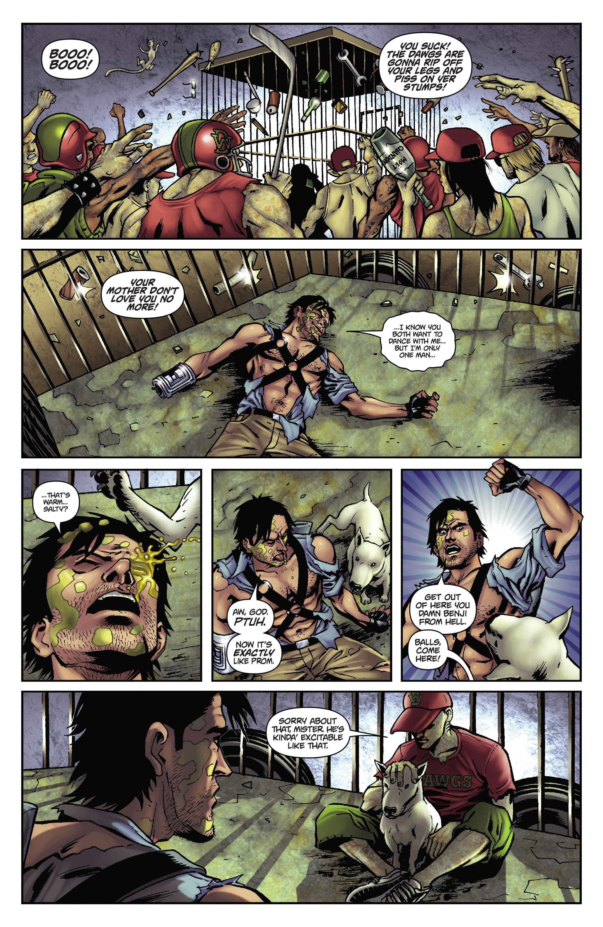 Army of Darkness: The Long Road Home TPB Page 43