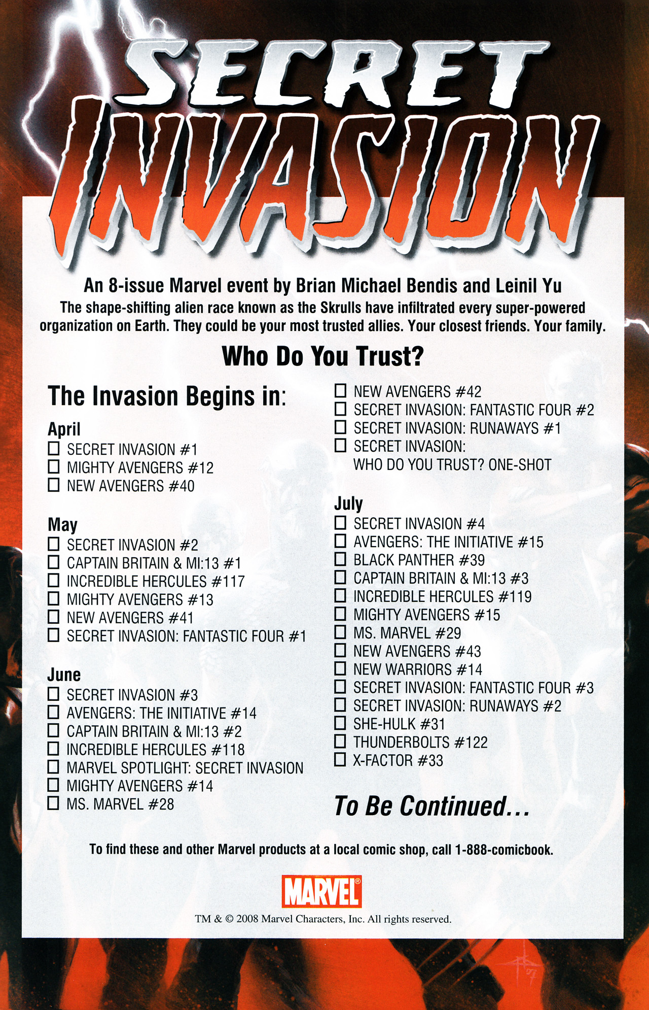 Read online Secret Invasion Saga comic -  Issue # Full - 25
