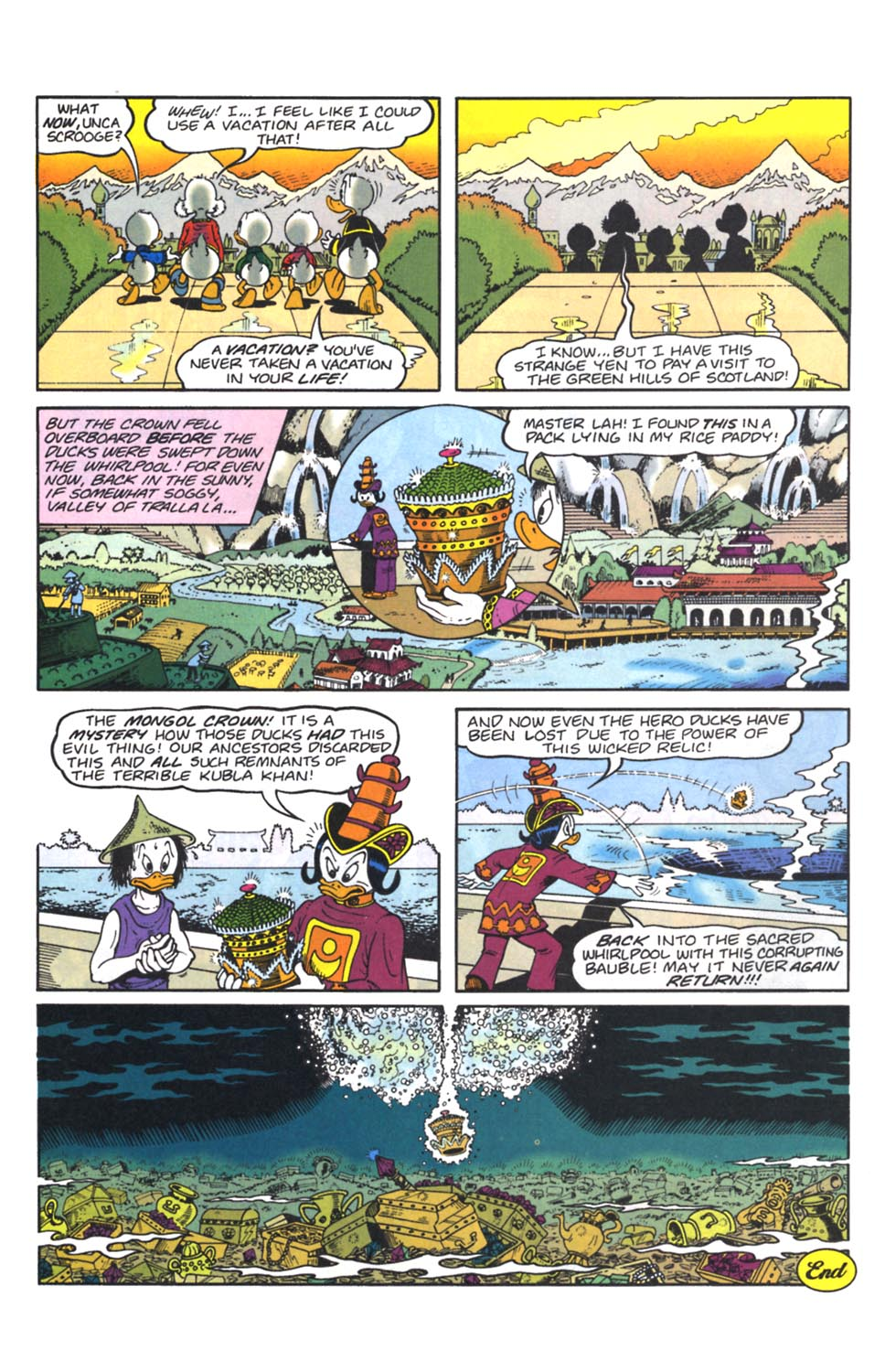 Uncle Scrooge (1953) Issue #262 #262 - English 15