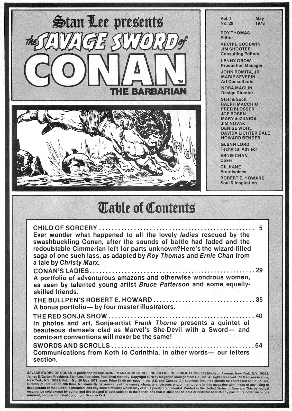 The Savage Sword Of Conan Issue #29 #30 - English 3