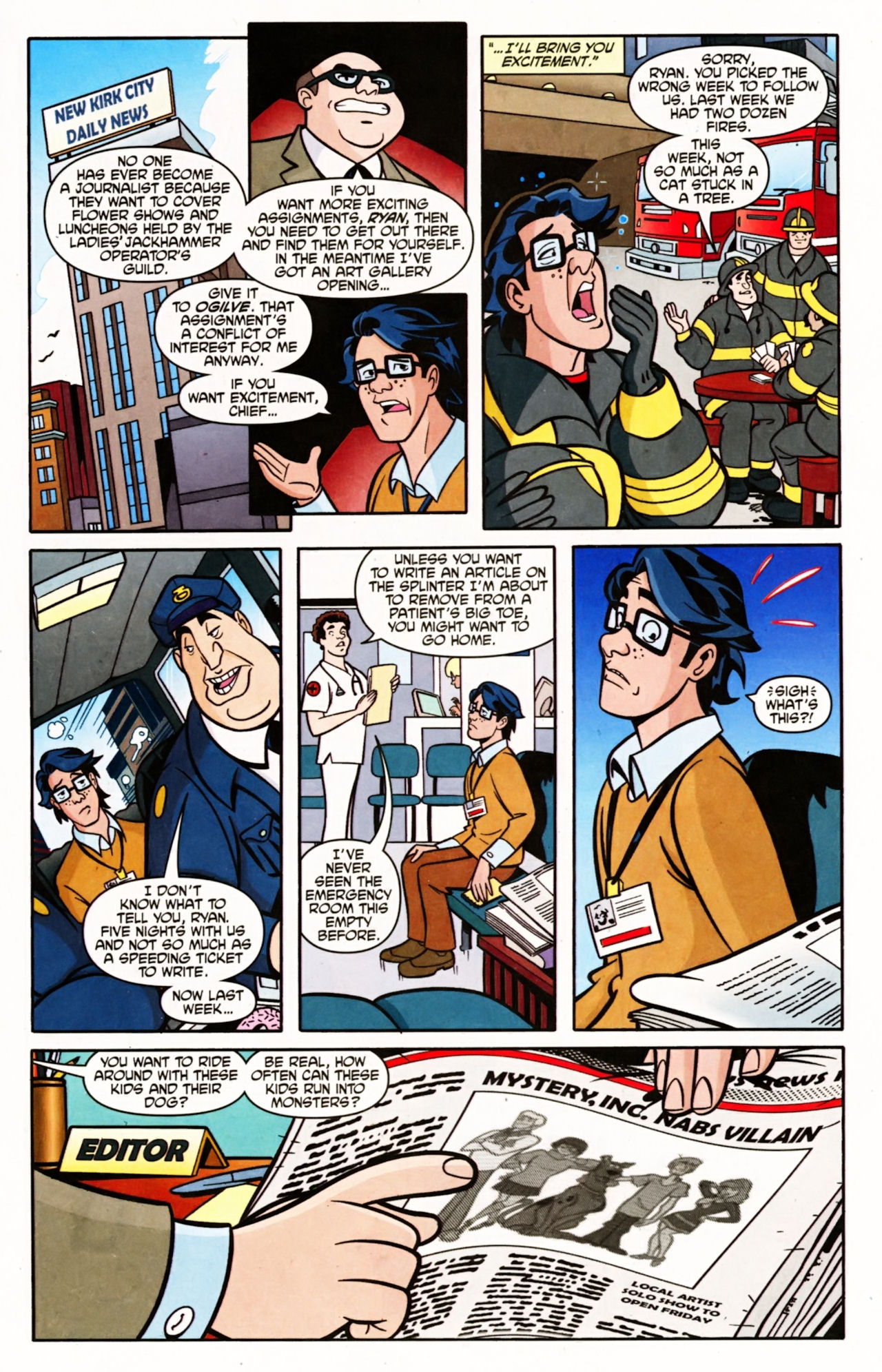Read online Scooby-Doo (1997) comic -  Issue #151 - 2