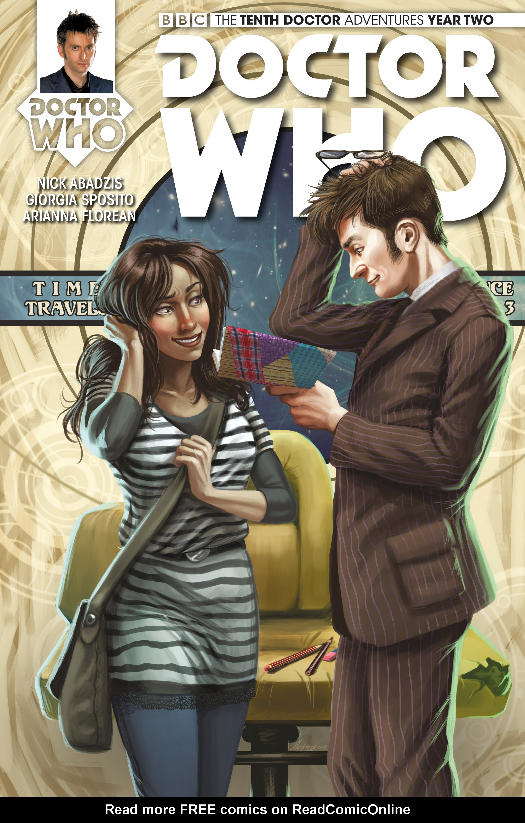 Doctor Who: The Tenth Doctor Year Two 12 Page 1