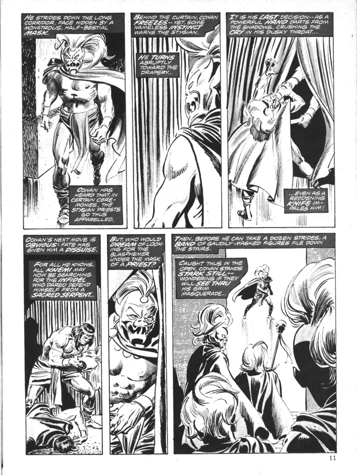 The Savage Sword Of Conan Issue #10 #11 - English 11
