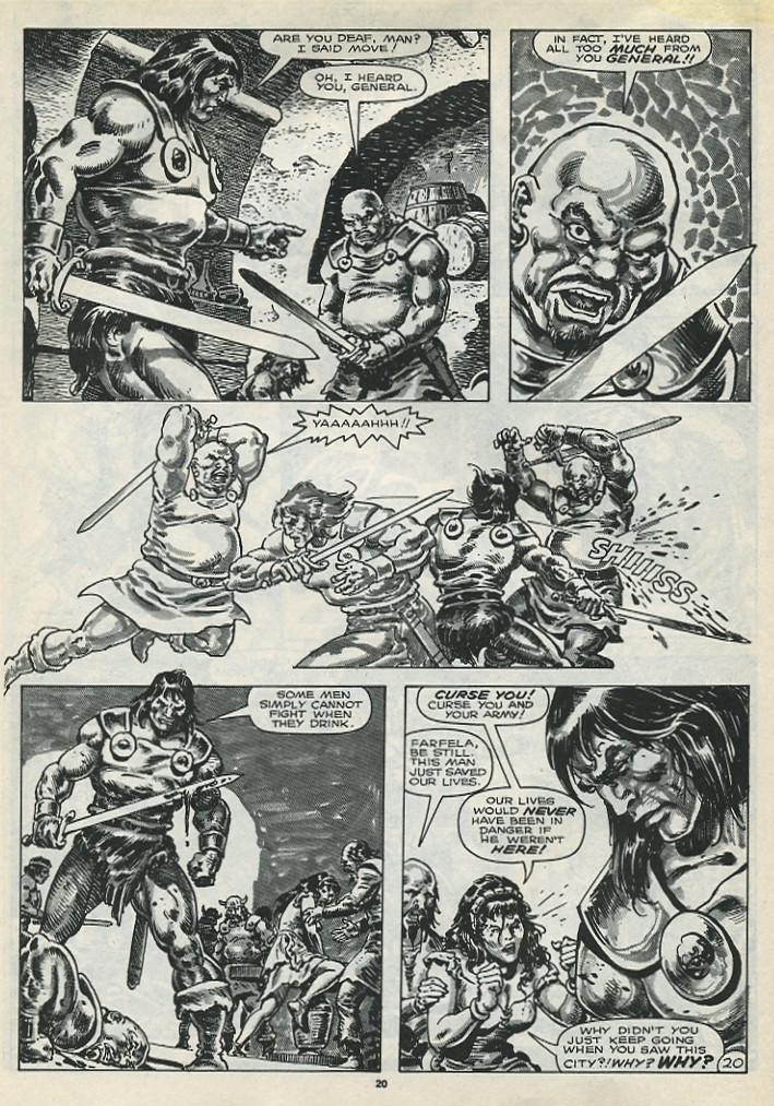 The Savage Sword Of Conan Issue #173 #174 - English 22