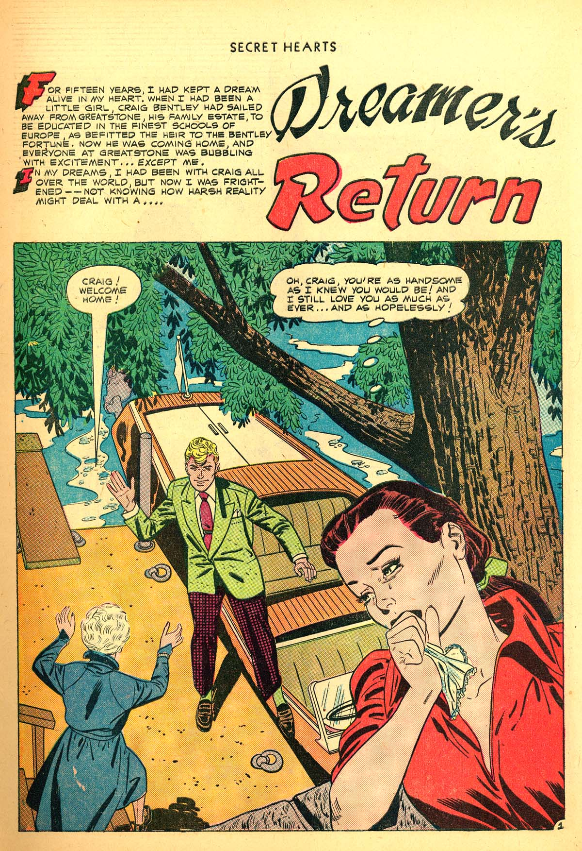 Read online Secret Hearts comic -  Issue #6 - 3