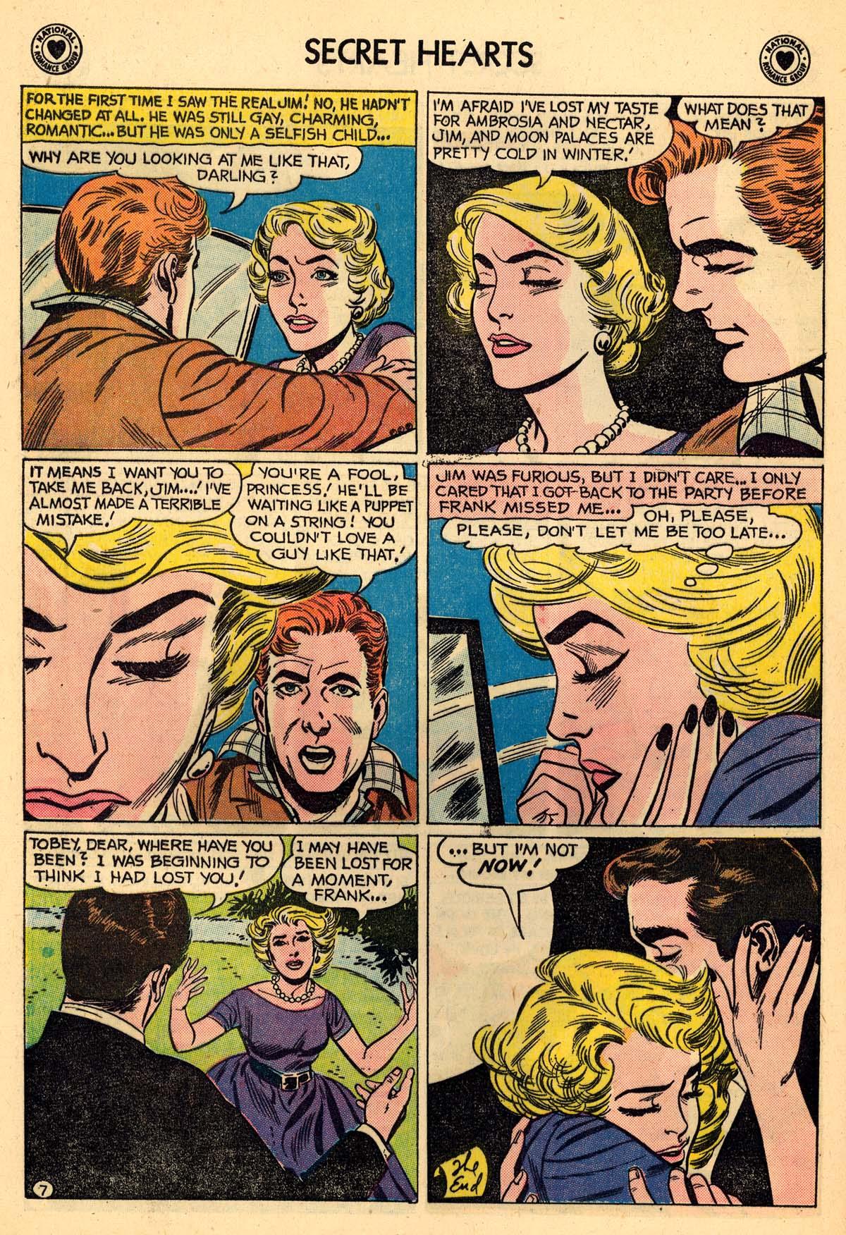 Read online Secret Hearts comic -  Issue #59 - 24
