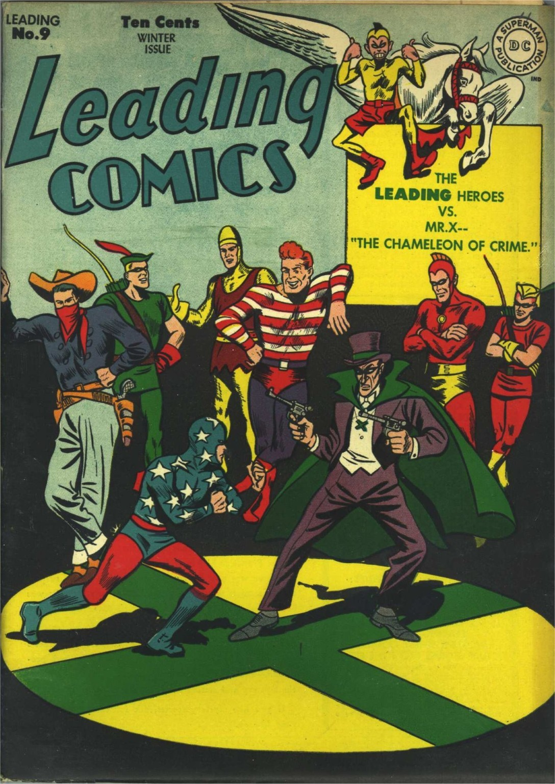 Leading Comics 9 Page 1