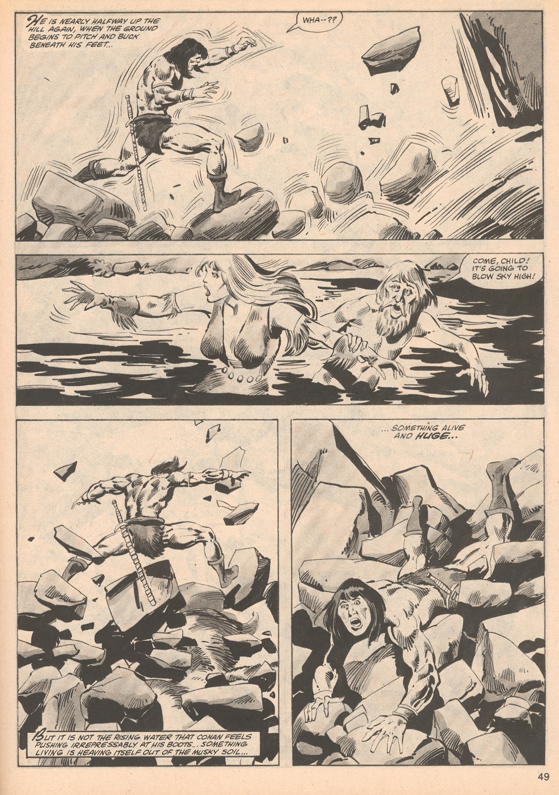 The Savage Sword Of Conan Issue #70 #71 - English 49